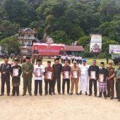 Upacara Hari Bhayangkara ke 73 Polres Kepulauan Anambas, Bupati Bacakan Amanat Presiden