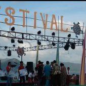Menteri Kelautan dan Perikanan Susi Didampingi Plh Gubenur Isdianto Buka Festival Padang Melang