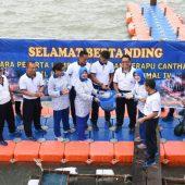 Lantamal IV Tanjungpinang Gelar Lomba Masak Ikan Kerapu Canthang