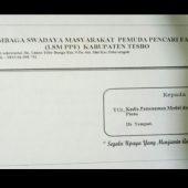 Ketua LSM Pemuda Pencari Fakta Kirim Surat ke DPM dan PTSP Tebo terkait Penyerobotan Lahan Milik Warga