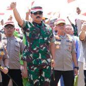 Panglima TNI dan Kapolri Kunjungi Pulau Nipa dan Polda Kepri, Banyak  Pesan Disampaikan !