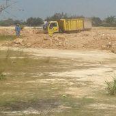 Dum Truck Plat Merah Milik Dinas Bina Marga Kota Batam, Disinyalir Dimanfaatkan Untuk Kepentingan Pribadi