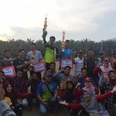 Meriahkan HUT RI Ke-74, Karang Taruna Karya Muda dan Kukerta UNRI Gelar Turnamen Mini Soccer