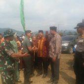 Danrem 031/Wirabima Tutup TMMD KE 105 KODIM 0313/KPR di Desa Balung
