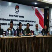 KPU Batam Tetapkan 50 Calon Legislatif DPRD Kota Batam