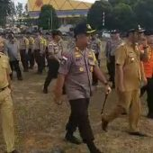 Apel Pasukan Karhutla, Bupati Bintan Apri Dorong Semangat Masyarakat Antisipasi Kebakaran