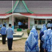 Wabup Anambas Wan Zuhendra Pimpin Upacara Kesadaran Nasional