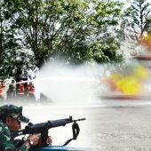 Serangan Udara di Mako Lantamal IV Tanjungpinang Teryata Latihan Pertahanan