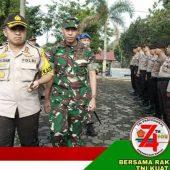 Dandim 0315/Bintan Hadiri Gelar Apel Pasukan Ops Patuh Seligi 2019 Polres Tanjungpinang