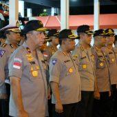 Wakapolda Kepri Berangkatkan 252 Anggota Sat Brimob Polda Kepri BKO Polda Papua