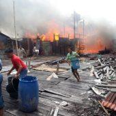 Sijago Merah Kembali Lalap Rumah Warga di Natuna