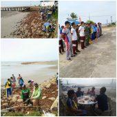 Jelang Harhubnas 2019, Kesyabaran Dabo Lakukan Aksi Bersih Pantai dan Laut