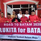 Ir. Lukita Dinarsyah Tuwo Resmi Mencalonkan Walikota Batam Melalui Gerbong PDIP