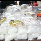 Polres Bintan Polda Kepri Ungkap Jaringan Internasional Peredaran Narkoba Jenis Sabu Seberat 119 Kg