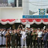Peringati Hut TNI 74,  Danlanal Tarempak Ajak Jajarannya Jaga Kesatuan dan Kesatuan Bangsa