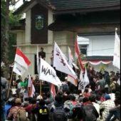 Aksi Unjuk Rasa Petani Tebo Diterima Anggota DPRD Tebo