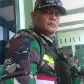 Personil TNI Kodim 0313/KPR dan Batalyon 132/BS Bantu Padamkan Kebakaran Lahan