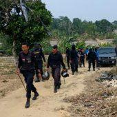 Ditpam BP Batam Tertibkan Kandang Babi di KKOP Hang Nadim