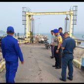 Polair  Polres Lingga, Minta Kerusakan Pelabuhan Roro Jagoh Segera Diperbaiki