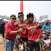 Wakapolda Yan Firtri Lepas Bhayangkara Endiro  2019 Internasional  Bike Adventure And Race