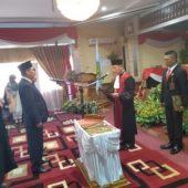 Satmarlen Resmi Dilantik Ketua DPRD Kota Sungai Penuh