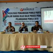 Bawaslu Tebo Gelar Sosialisasi Pengawasan Pemilu Hadapi Pilgub Jambi 2020