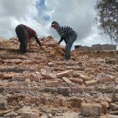 Pembangunan Tahap III Lapangan Bola Desa Busung Bintan Diduga Tak Sesuai Bestek, Aparat Diminta Selidiki