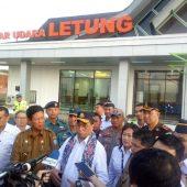 Menteri Budi Karya Resmikan Bandara Letung di Anambas
