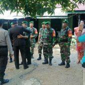 Bangun Kerbersamaan, Kapolsek Siantan Sampaikan Selamat Hut TNI ke 74