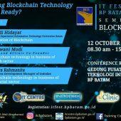 IT Fest BP Batam 2019 Hadir Lagi  Dorong Bisnis Era Digital