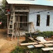 Bantuan Dana Rehap Rumah Terdampak Gempa Ambon Proses Pembangunan