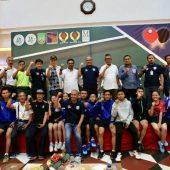 233 Peserta Meriahkan Turnamen Tenis Meja Hari Bakti BP Batam ke-48