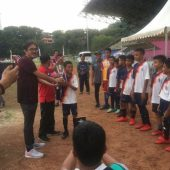 Kesebelasan Citra Mas Yellow Sabet  Piala Kepala BP Batam CUP II Se-Kepri Tahun 2019