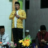 Wakil Bupati Tanjabtim Hadiri Peringatan Maulid Nabi Muhammad SAW Nipah Panjang
