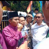 Rapat Paripurna Hut Ke 61 Kabupaten Kerinci Diwarnai Aksi Demo Mahasiswa