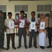 Koramil 16 Tapung Ajak Masyarakat Jaga Kondusifitas Saat Pelaksanaan Pilkades