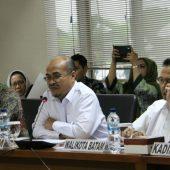 Pertemuan Komite I DPD RI Dengan BP Batam Bahas Upaya Mendorong Pengelolaan Batam