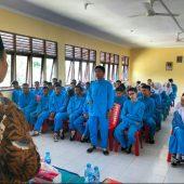 Ria Saptarika, Anggota DPD RI Sambangi  SMAN-2 Belakang Padang, Sosialisasi 4 Pilar Kebangsaan