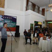 Ramah Tamah dengan Peserta Danau Toba Rally 2019, Wagub : Sumut Tuan Rumah World Rally Championship 2022