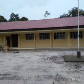 Pembangunan Ruang Belajar SMP Negeri 2 Singkep Pesisir  Rampung