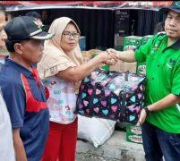 Rapi Wilayah 11 Kerinci Salurkan Bantuan Bagi Warga Korban Kebakaran