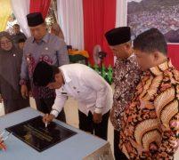 Plt Gubernur Kepri Resmikan Pemekaran Kecamatan Kute Siantan