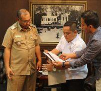 Bawaslu Kota Medan Kunjungi Pemko Medan