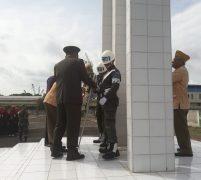 Hut LVRI Ke 63, LVRI Kota Batam Gandeng PPM Kepri 24 Karat Tabur Bunga di Taman Makam Pahlawan Pusara Bhakti Bulan Gebang Batam