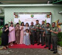 Danrem 033/WP Brigjen TNI Gabriel Lema, S. Sos & Keluarga Gelar Open House Natal dan Tahun Baru 2020