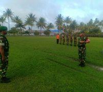 Danrem 033/WP Pimpin Apel gelar Pasukan Operasi Pengamanan Kunker  Presiden RI di Natuna
