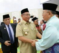 Hadiri Paripurna Hari Jadi ke 16 Kabupaten Serdang Badagai, Akhyar Nasution : Pemkot Medan Siap erjasama