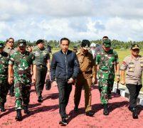 Kunker Jokowi di Natuna Disambut Pangdam I/BB Mayjen TNI MS. Fadhilah