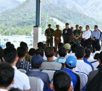 Presiden Jokowi Pastikan SKPT Natuna Bermanfaat Bagi  Nelayan Tempatan
