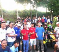 Bupati Gorontalo Sabangi Sirkuit Saksikan para Biker